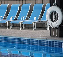 Pool Side by Maria Dryfhout