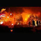 Australia Burns by rossco