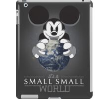 It's a small small world iPad Case/Skin