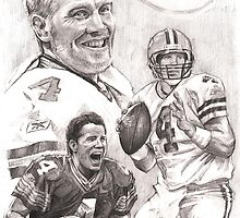 Brett Favre - Green Bay Packers by Alleycatsgarden