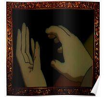 Frame Hands Poster