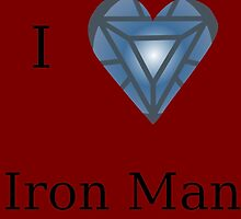 I Heart Iron Man by GeekyToGo