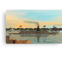 CSS Virginia (Merrimack) Canvas Print
