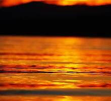 Sunset water by Wanagi Zable-Andrews
