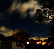 Suburban night by Wanagi Zable-Andrews