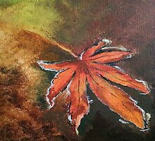 Fall Leaf by mayafc