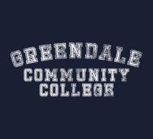 Greendale Community College (Distressed) Kids Clothes