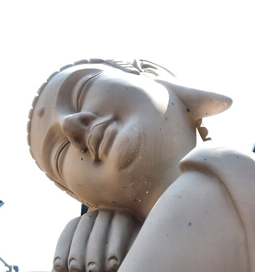 Sleeping Buddha by hilarydougill