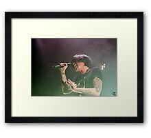 Sleeping With Sirens 12 Framed Print