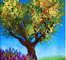Heart Tree by MarisaLuArt