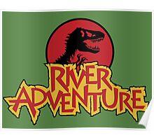 Jurassic Park River Adventure Poster