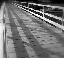 Village Bridge by Felicia Moore