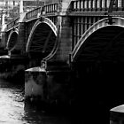 A London Bridge by Eugene Francis Cummings