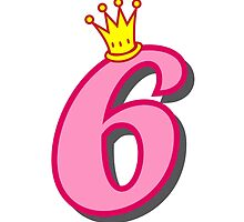 6th birthday princess party theme and gifts by Tee Brain Creative