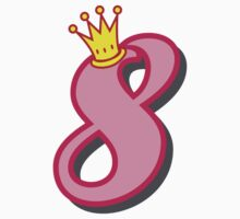8th birthday princess party theme and gifts Kids Clothes