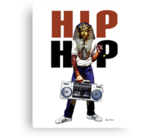 Hip Hop Pharaoh Canvas Print