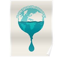 H2O *every drop counts Poster