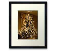 Watson's Family Room Christmas Framed Print