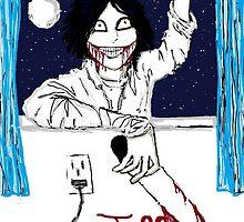 Jeff the Killer: Nighty-Night! by Skayda
