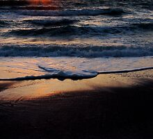 Sunset at Clearwater Beach, Florida by LaWatha Wisehart