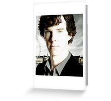 Benedict Cumberbatch - Sherlock  Greeting Card