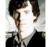 Benedict Cumberbatch - Sherlock  Photographic Print