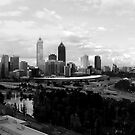 Perth Cityscape Panoramic by Sandra Chung