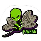 Alien B Attack  Logo(with wording) by bwearbiz