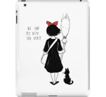 WE CAN FLY WITH OUR SPIRIT iPad Case/Skin
