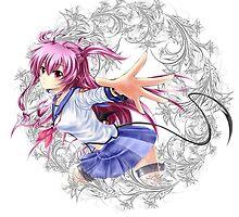 Angel Beats - Yui by IzayaUke