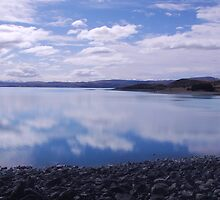 Lake Twizel NZ by Belinda Anderson