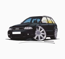 Audi RS4 Avant Black by Richard Yeomans
