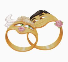 Funny wedding rings Kids Clothes