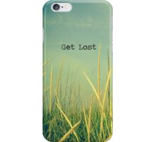 Get Lost iPhone Case/Skin