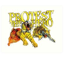 Protest The Hero Art Print