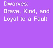 Definition of Dwarves - White by CoppersMama