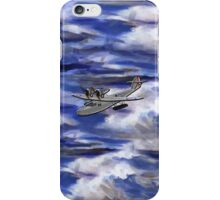 A Saro Cloud A29 of the Royal Air Force - all products except duvet iPhone Case/Skin