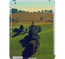 Autumn fields panorama | landscape photography iPad Case/Skin