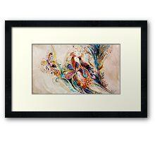 The Splash Of Life. Composition 1 Framed Print