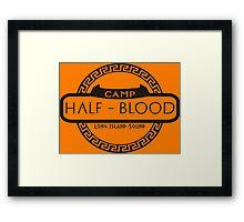 Camp Half Blood Framed Print