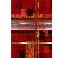Red & Gold Delight Photographic Print