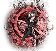 Kuroshitsuji (Black Butler) - Sebastian Michaelis by IzayaUke