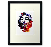 Anonymous Che Guevarra Framed Print