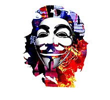 Anonymous Che Guevarra Photographic Print