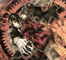 Kuroshitsuji (Black Butler) - Ciel Phantomhive & Sebastian Michaelis³ Sticker