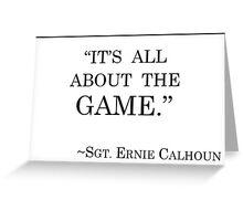 VGHS Calhoun's Motto Greeting Card