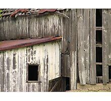 Closer to the Old Barn Photographic Print