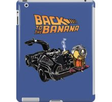 Back To The Banana v2 iPad Case/Skin