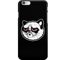 Black and white cat with the hump  iPhone Case/Skin