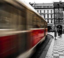 City Tram in Prague  by focusonphotos